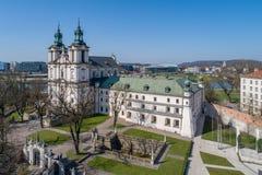 1079 połyskiem także był biskupa śmiały boleslaus grzebalny kościół odróżniającym sławnym historycznym zabity królewiątka Krakow  fotografia stock