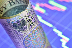 Połysku 100 złoty banknot Zdjęcie Stock