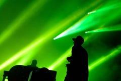 Pościg & status wykonujemy przy kłamstewko festiwalem (Brytyjski elektronicznej muzyki produkci duetu zespół) obrazy stock