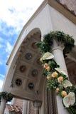 poślub białe kwiaty Zdjęcie Royalty Free
