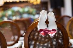 poślubić butów fotografia royalty free