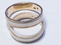 poślubić pierścieni Zdjęcie Royalty Free