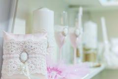 Poślubiać atrybuty dla świętowań Fotografia Stock