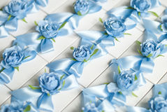 Poślubiać Bonbonniere Pudełko, teraźniejszości pudełko Ślubny prezent dla gościa Zdjęcia Stock
