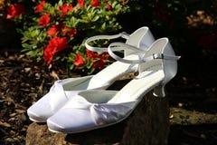 Poślubiać buty Fotografia Royalty Free