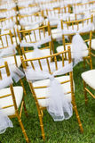 Poślubiać krzesła obraz stock