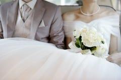 Poślubiać kwiatu bukiet Zdjęcia Stock
