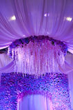 Poślubiać kwiatu tła projekta scenę zdjęcie royalty free