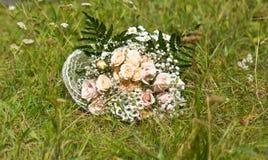 Poślubiać kwiaty piękni beżowi kwiaty Fotografia Royalty Free