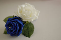 Poślubiać kwitnie dla fornala lub bestman Obrazy Stock