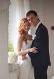 Poślubiać, państwo młodzi, miłość Zdjęcie Royalty Free
