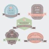 Poślubiać set Fotografia Stock