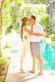 Poślubiać urocza para zdjęcia stock