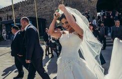 Poślubiać w Gruzja Zdjęcia Royalty Free