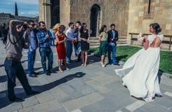 Poślubiać w Gruzja Zdjęcie Stock