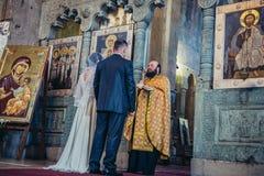 Poślubiać w Gruzja Zdjęcia Stock