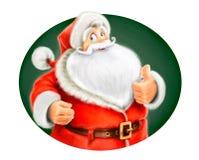 Poślubia Święty Mikołaj przedstawienie ok ilustracja wektor
