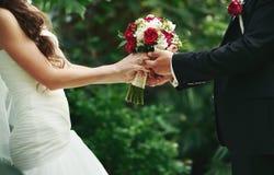 Poślubia ja dzisiaj i codzienny obrazy stock