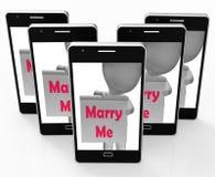 Poślubia Ja Szyldowa przedstawienia małżeństwa propozycja I zobowiązanie ilustracji