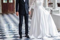 Poślubia ja w połówce Fotografia Stock