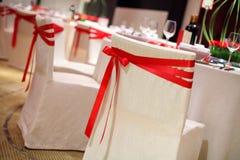Poślubia krzesła Zdjęcia Stock