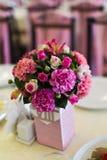 Poślubia kwiaty Zdjęcia Royalty Free