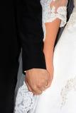 Poślubia ręki zdjęcie royalty free