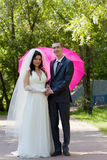 Poślubiająca para Fotografia Stock