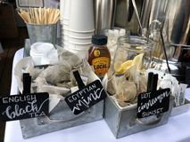 Poślubiający bartending Blisko Ja Englewood CO zdjęcie stock