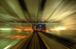 pośpieszni pociągi Obrazy Stock