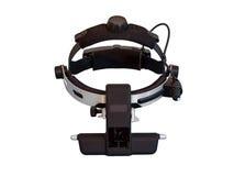 Pośredni oftalmoskop jest instrumentem dla oko egzaminu zdjęcie royalty free