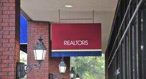 Pośrednika handlu nieruchomościami Agencyjny biuro Zdjęcia Royalty Free
