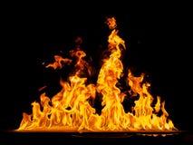 pożar lasu campingowy płomień Obraz Stock