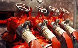 pożar silnika zdjęcia royalty free