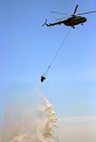 Pożarnictwo helikopter zdjęcie stock