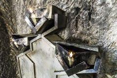 Pożarnicza świątynia Fotografia Stock