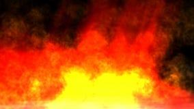 Pożarnicza animacja ilustracji