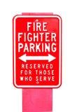 Pożarnicza etykietka zdjęcie stock