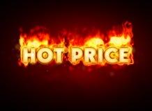 pożarnicza gorąca cena Obraz Royalty Free