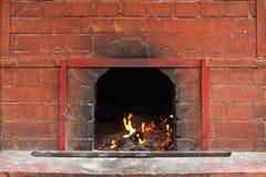 pożarnicza kuchenka zdjęcia royalty free