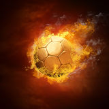 pożarnicza piłki piłka nożna Obraz Stock