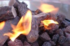 Pożarnicza plama Zdjęcia Royalty Free