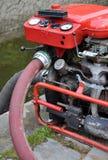 Pożarnicza pompa Obraz Royalty Free