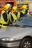 pożarnicza ratownicza usługa Obrazy Stock