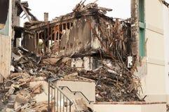 Pożarnicza szkoda Fotografia Royalty Free