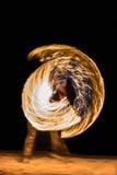 Pożarnicze gry na plaży - Koh Samui, Tajlandia - Obrazy Royalty Free