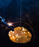 Pożarniczego świderu stal Fotografia Stock