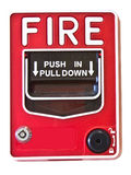Pożarniczego alarma zmiana obraz royalty free