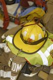 Pożarniczego boju wyposażenie Obraz Royalty Free
