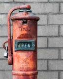 Pożarniczego działu klapa Zdjęcia Royalty Free
